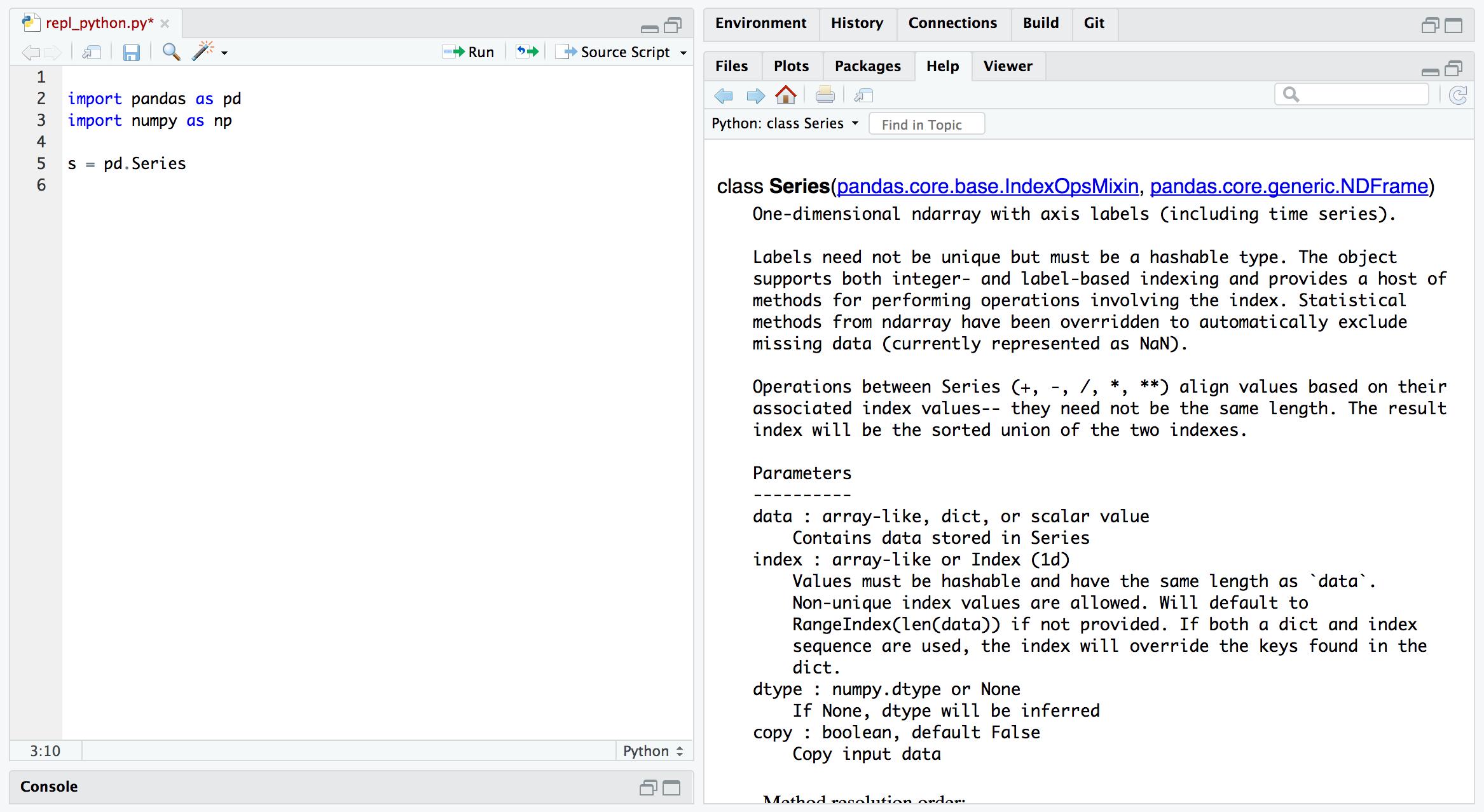 RStudio IDE Tools for reticulate • reticulate