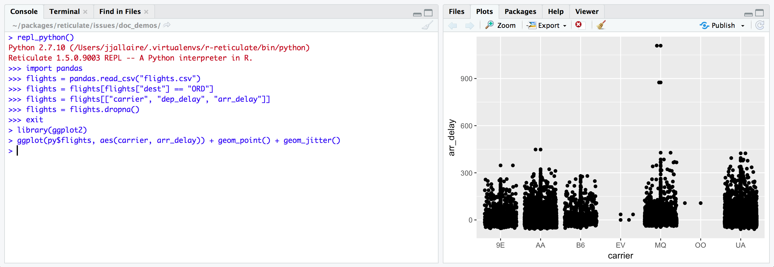 reticulate: R interface to Python | RStudio Blog